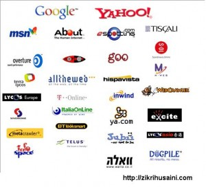 jenis search engine, search engine, search engine yang popular, engin pencarian yang paling kerap digunakan