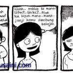 Kartun malaysia: Lepas SPM dapat tawaran sambung belajar ke??