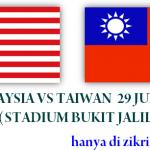 Keputusan terkini malaysia vs Taiwan 29 june 2011 (bukit Jalil)