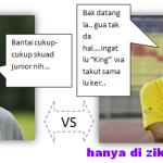 Keputusan terkini Skuad Ong Kim Swee vs Raja Gopal (friendly match 2011)