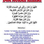 20 amalan murah rezeki, Insyallah