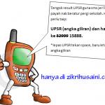 Wahh, check keputusan UPSR dengan sms jer!!!