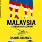 Keputusan terkini malaysia vs Singapura (Sukan Sea 2011) Stadium Bung Karno