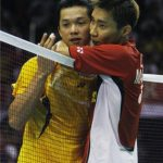 Lee chong wei dan beregu campuran mara separuh akhir!! Maybank open 2012