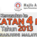 Borang permohonan MRSM tingkatan 4, 2013