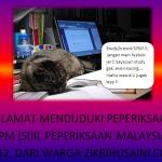 Selamat menduduki peperiksaan SPM 2012!!