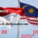 Malaysia menang 2-0 VS Indonesia, mara ke separuh akhir piala suzuki AFF 2012