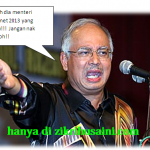 Senarai menteri kabinet 2013, OFFICIAL punyer!!
