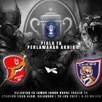 Kelantan VS JDT, Pentas Akhir Piala FA 2013!!