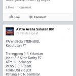 Keputusan perlawanan piala malaysia,17 september 2013