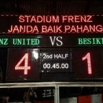 Keputusan frenz united u-16 vs besiktas u16 17 januari 2014