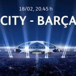 Keputusan manchester city vs barcelona 19 feb 2014