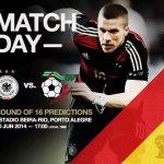 Keputusan terkini germany vs algeria 01.07.2014