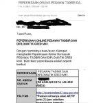Panduan exam online ptd m41, 2014