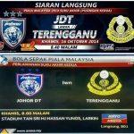 Jdt vs terengganu piala malaysia suku akhir kedua 16/10/2014