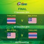 Jadual penuh akhir malaysia vs thailand piala aff suzuki 2014