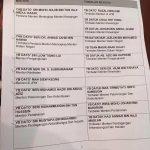 Senarai penuh nama menteri kabinet 2015 yang diumumkan oleh Ds najib