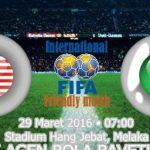 Keputusan terkini malaysia vs macau persahabatan 29.3.2016