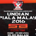 Keputusan undian piala malaysia 23.5.2016