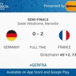 france mara ke final tewaskan Germany 2-0 euro ,2016