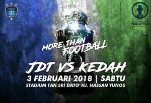 jdt vs kedah, live streaming kedah vs jdt piala sumbangsih 2018, live streaming jdt vs kedah piala sumbangsih 2018,