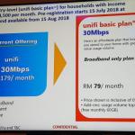 Pelan Unifi Basic 30Mbps Baru Diumumkan – RM79 Sebulan Dengan 60GB Kuota Data- TELEKOM MALAYSIA