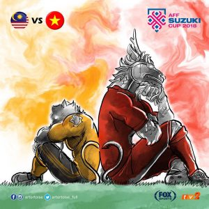 malaysia vs vietnam, poster malaysia vs vietnam,