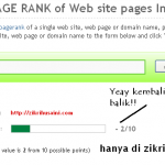 Google PR zikrihusaini.com kembali ke 2
