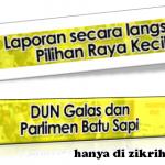 Keputusan terkini Pilihanraya kecil Dun Galas dan Parlimen Batu Sapi
