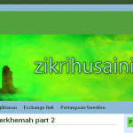 Zikrihusaini.com Under construction