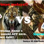 Keputusan terkini malaysia vs indonesia FINAL pertama di bukit jalil!!
