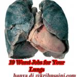 10 pekerjaan yang tak elok buat paru-paru.