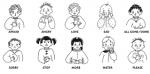 bahasa isyarat kanak-kanak