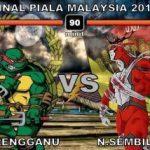 Keputusan terkini Akhir Piala malaysia 2011 (Terengganu VS Negeri Sembilan)