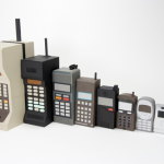Model pertama design handphone, (pencipta handphone pertama didunia)