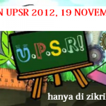 Keputusan UPSR 2012 hari ini 19/11/12, dan semak keputusan secara SMS