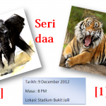 Malaysia hanya catat seri 1-1 thailand 1st leg semi final AFF Suzuki Cup 2012