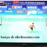 Lindan juara perseorangan lelaki kejohanan dunia, Guangzhao 2013