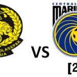 Keputusan perlawanan Harimau muda [0] vs [2] Central Coast Mariners, Menpora Cup 2013