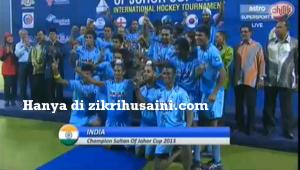india johan piala sultan johor 2013