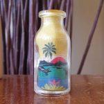 Seni pasir dalam botol yang menakjubkan