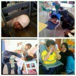 Cerita pelajar baru naik sekolah 2014, tersepit kepala di kerusi