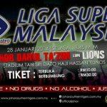 Keputusan liga super livescore jdt vs lions Xll 28 jan 2014