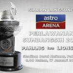 Keputusan perlawanan piala sumbangsih 2014, pahang fa vs lion XII