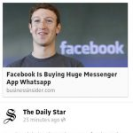 Facebook beli whatsapp 16 billion beb!!