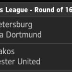 Keputusan champions league 26 feb 2014 round of 16