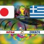 Keputusan terkini japan vs greece 20 jun 2014