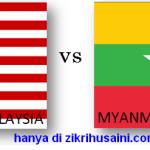 Keputusan terkini malaysia vs myanmar piala aff suzuki 23/11/2014