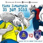 Live streaming JDT vs Pahang Suku akhir pertama piala fa 1.4.2017
