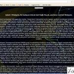 Blog ahmad maslan dot com kena hack!